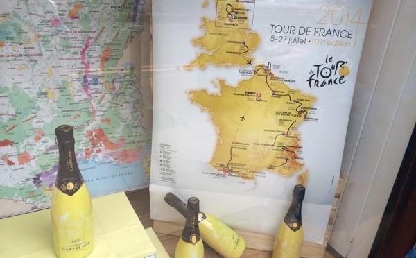 Tour de France champagne 1